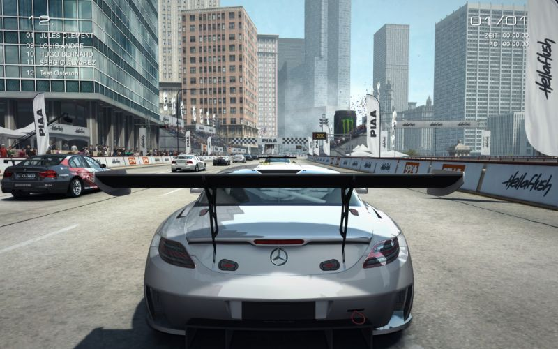 GRID AUTOSPORT racing race auto game action open-wheel tuning supercar (5) wallpaper