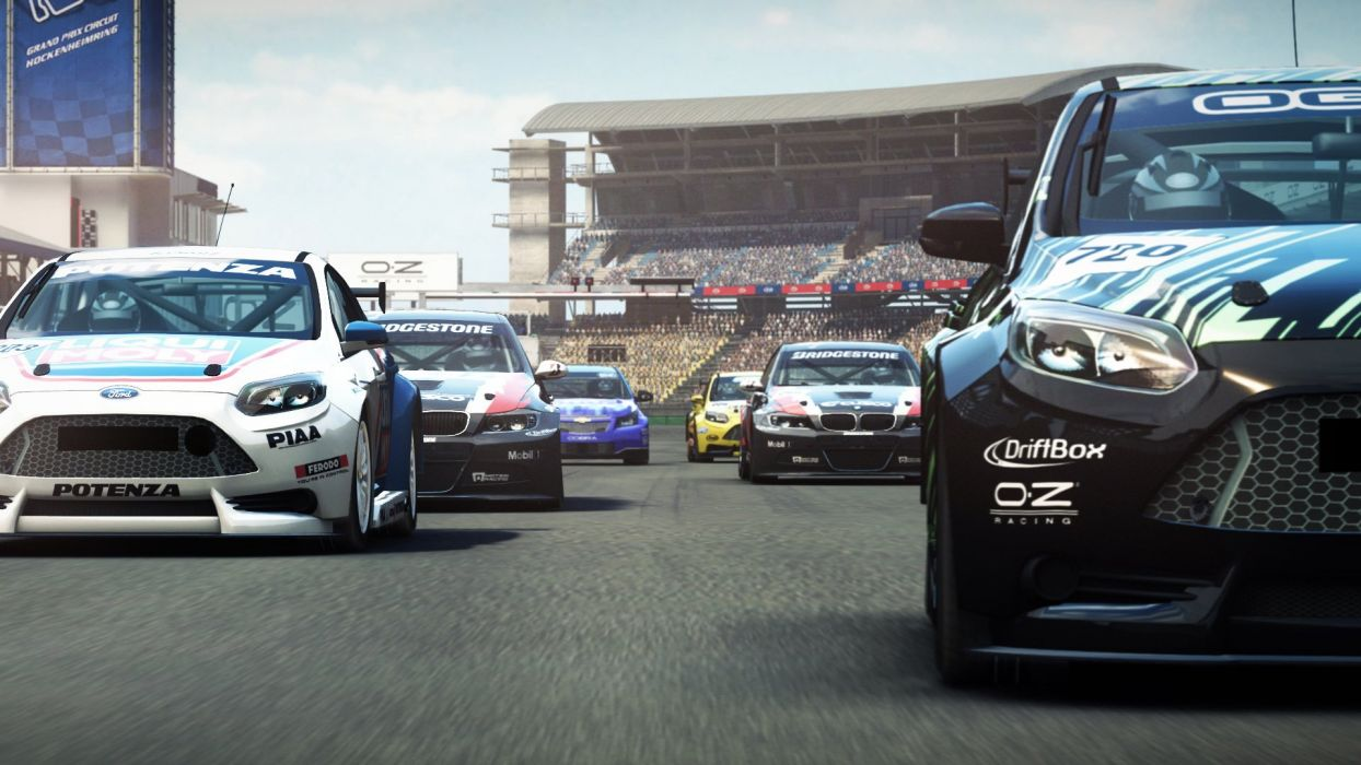 GRID AUTOSPORT racing race auto game action open-wheel tuning supercar (1) wallpaper