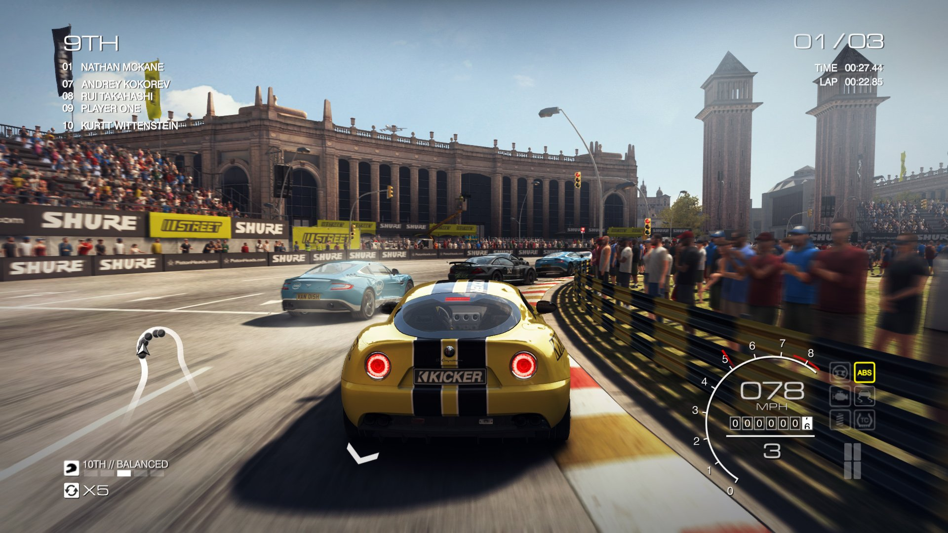 Grid 2 Game Wallpaper High Resolution Pics: GRID AUTOSPORT Racing Race Auto Game Action Open-wheel