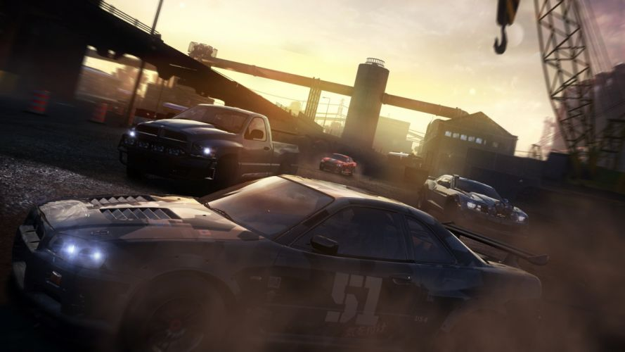 THE-CREW racing race muscle tuning supercar crew rpg (2) wallpaper