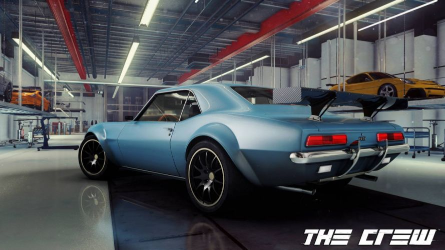 THE-CREW racing race muscle tuning supercar crew rpg (18) wallpaper
