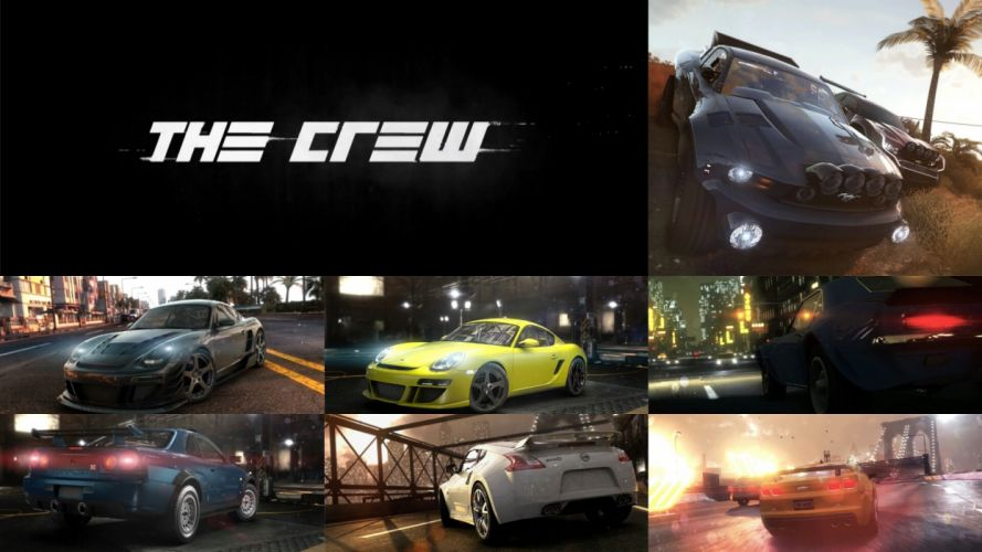 THE-CREW racing race muscle tuning supercar crew rpg (62) wallpaper