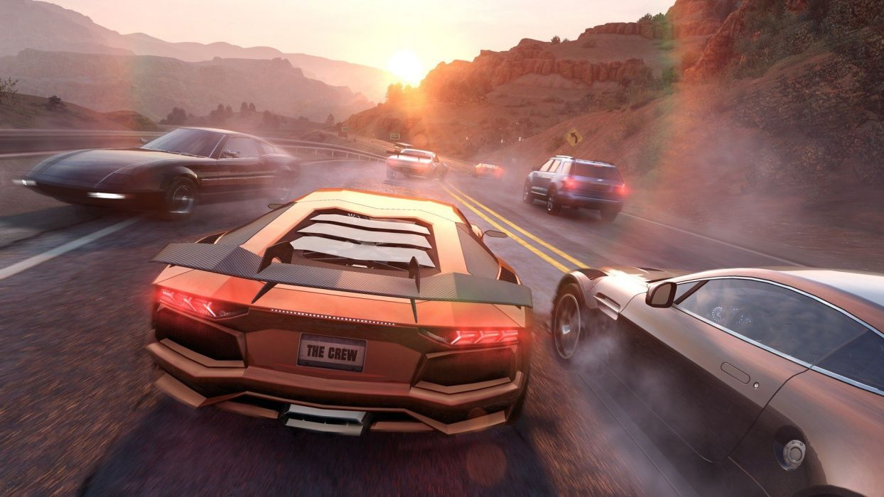 THE-CREW racing race muscle tuning supercar crew rpg (77) wallpaper
