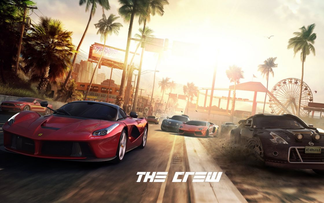 THE-CREW racing race muscle tuning supercar crew rpg (78) wallpaper