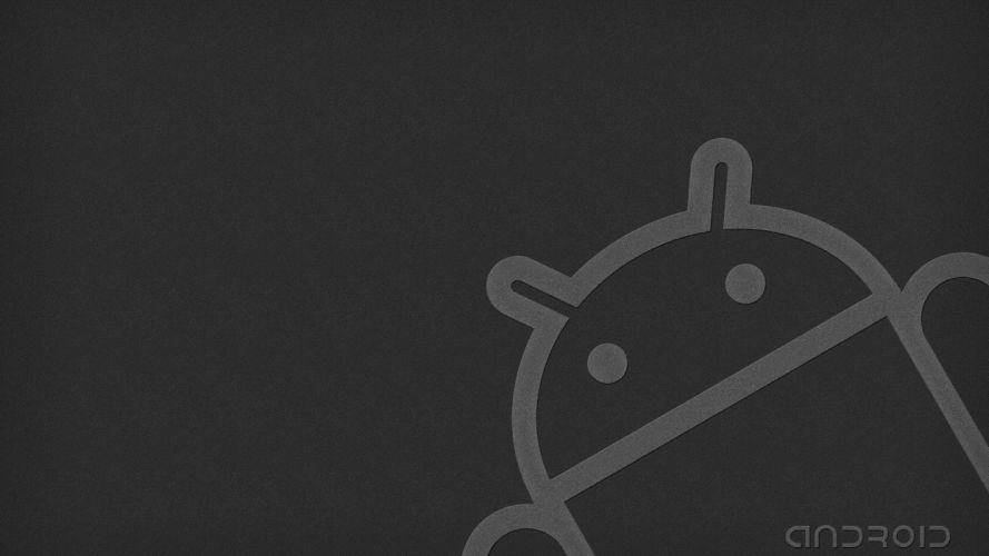 gray android wallpaper