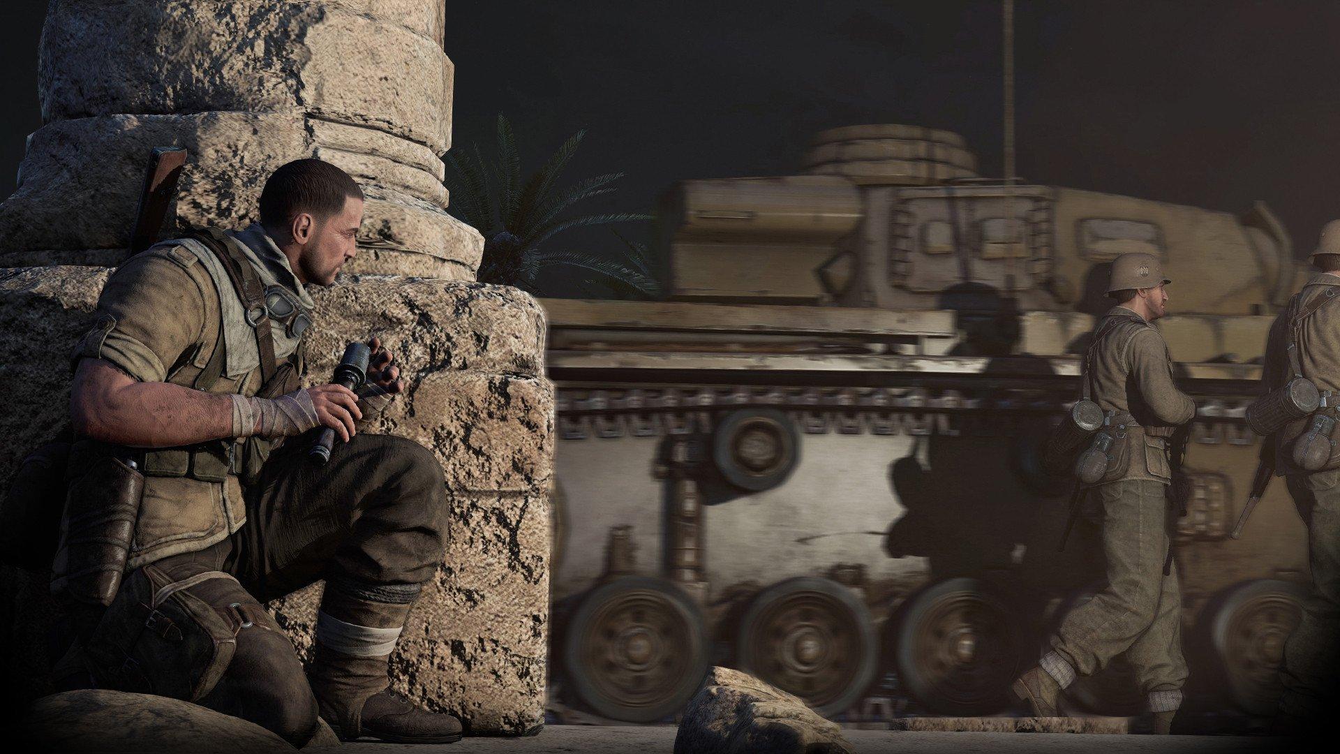 Sniper Elite 3 Wallpaper: SNIPER ELITE III Shooter Military Weapon Gun Tactical