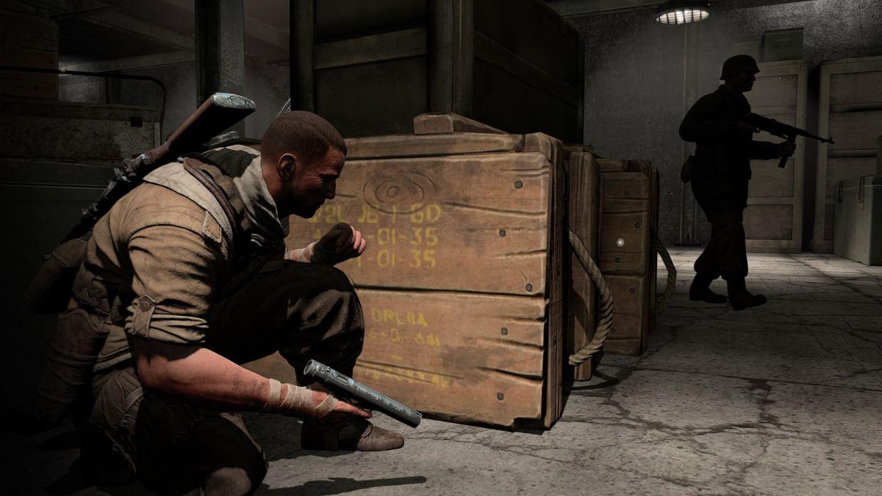 SNIPER ELITE III shooter military weapon gun tactical stealth (2) wallpaper