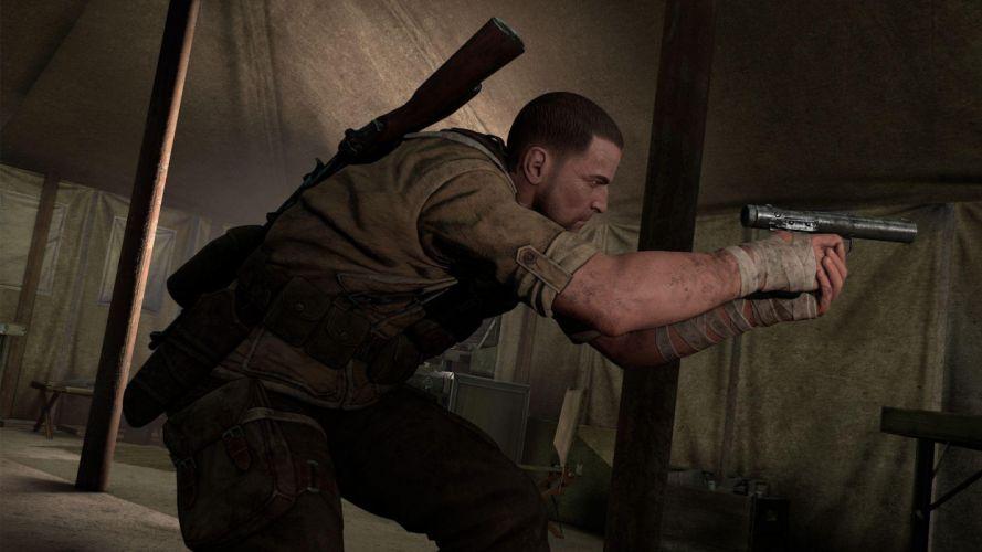 SNIPER ELITE III shooter military weapon gun tactical stealth (15) wallpaper