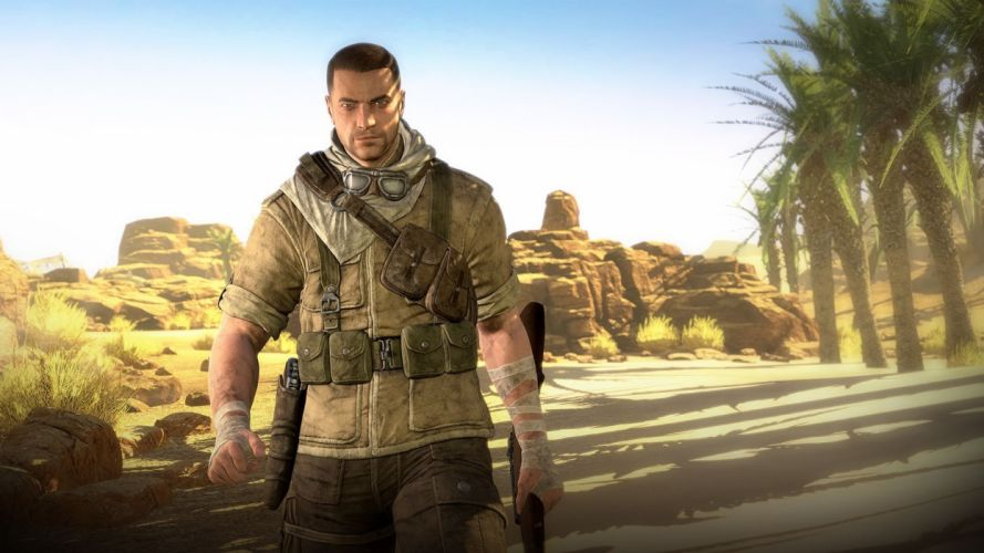 SNIPER ELITE III shooter military weapon gun tactical stealth (17) wallpaper