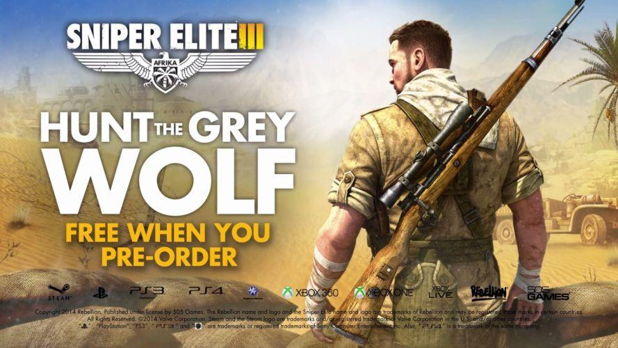 SNIPER ELITE III shooter military weapon gun tactical stealth (22) wallpaper