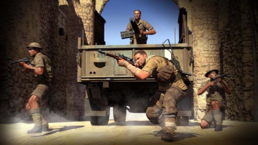 SNIPER ELITE III shooter military weapon gun tactical stealth (24) wallpaper