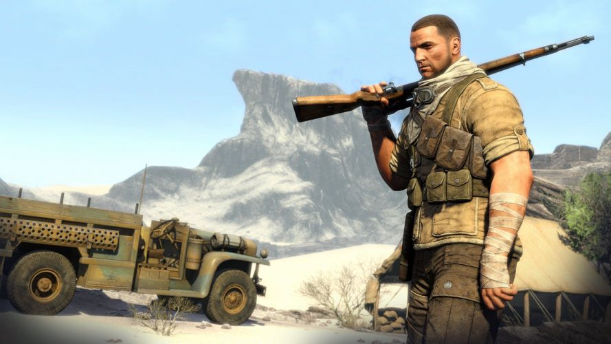SNIPER ELITE III shooter military weapon gun tactical stealth (38) wallpaper