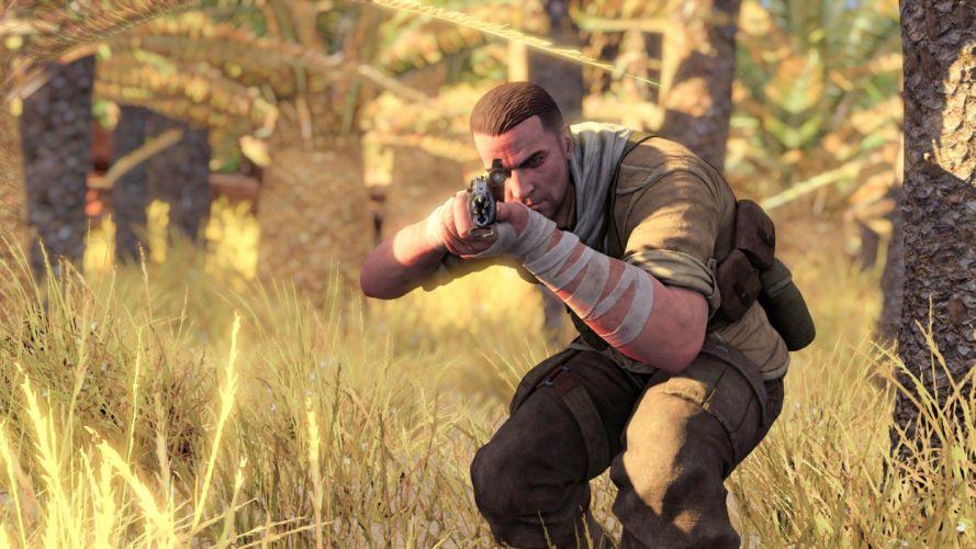 SNIPER ELITE III shooter military weapon gun tactical stealth (40) wallpaper