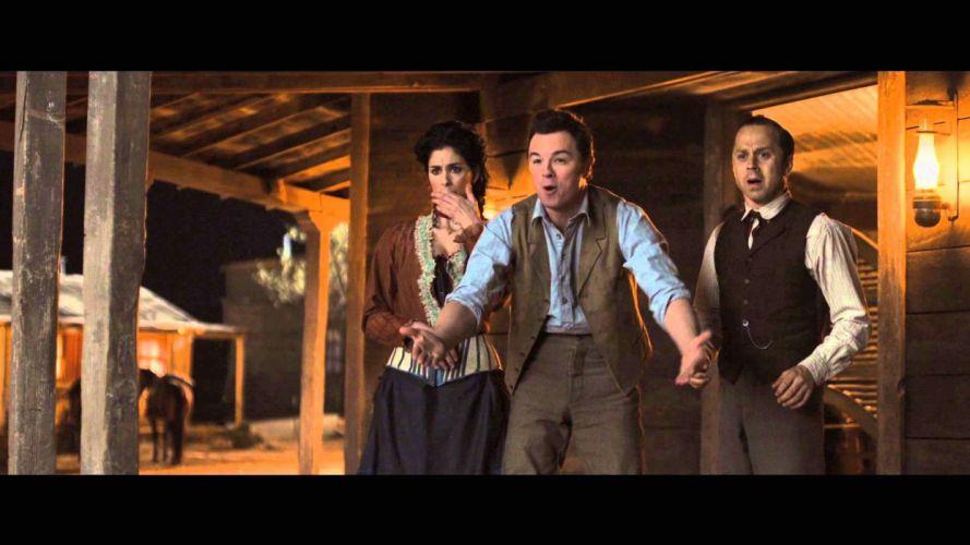 MILLION WAYS DIE WEST comedy western film charlize theron (17) wallpaper