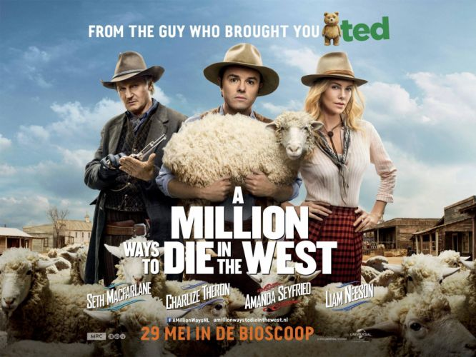 MILLION WAYS DIE WEST comedy western film charlize theron (27) wallpaper