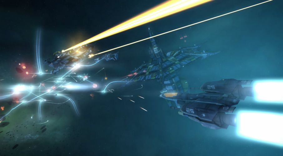 STRIKE SUIT ZERO space flight combat sci-fi spaceship simulator mecha (3) wallpaper