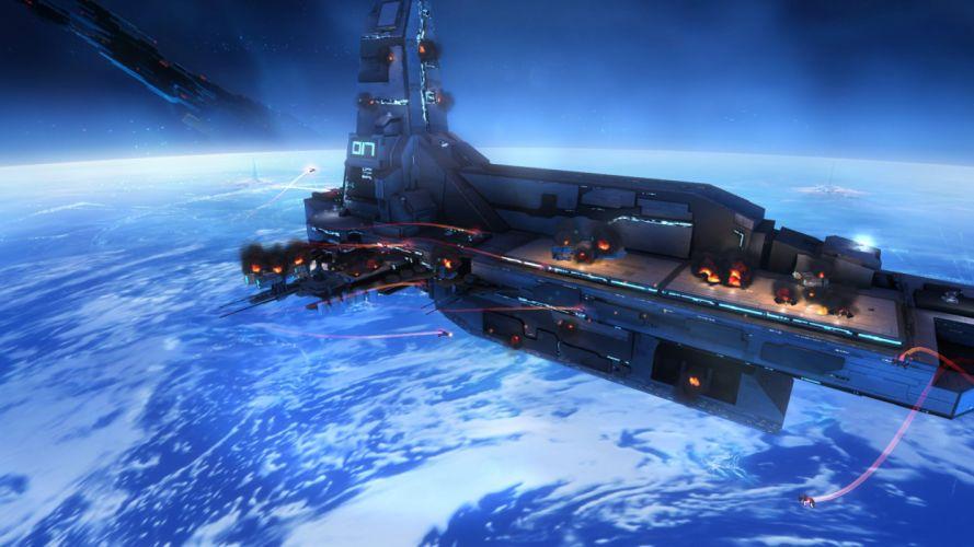 STRIKE SUIT ZERO space flight combat sci-fi spaceship simulator mecha (5) wallpaper
