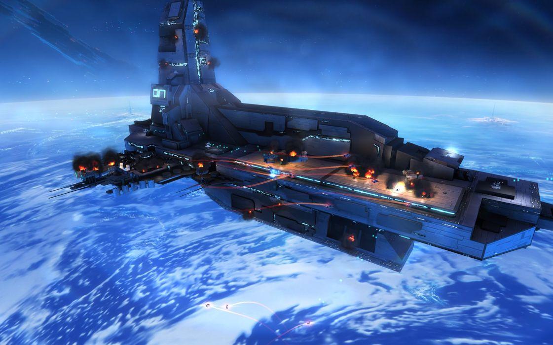 STRIKE SUIT ZERO space flight combat sci-fi spaceship simulator mecha (8) wallpaper