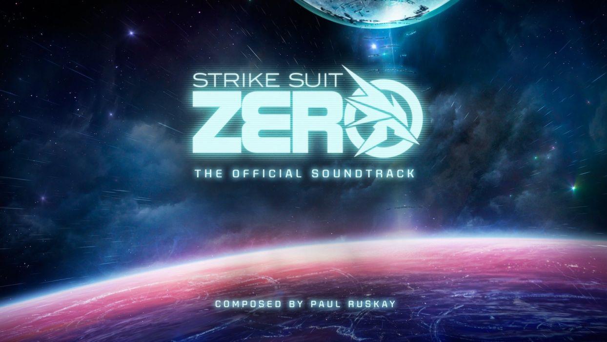 STRIKE SUIT ZERO space flight combat sci-fi spaceship simulator mecha (9) wallpaper