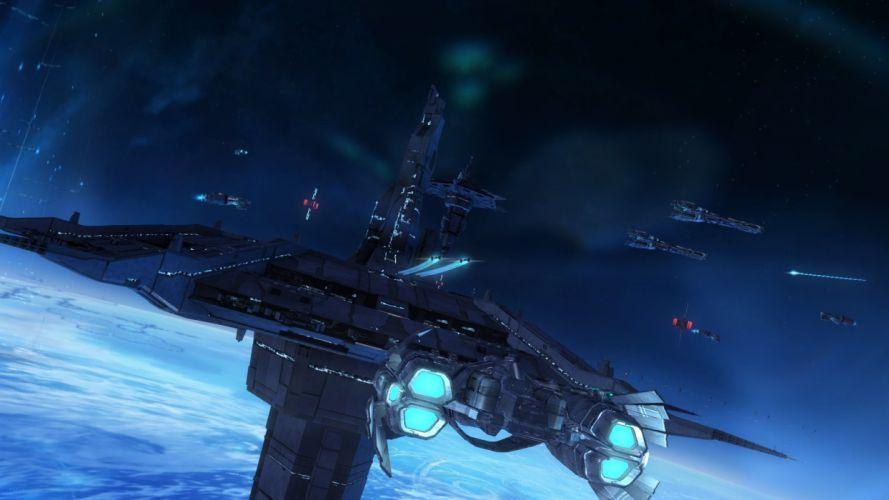 STRIKE SUIT ZERO space flight combat sci-fi spaceship simulator mecha (14) wallpaper