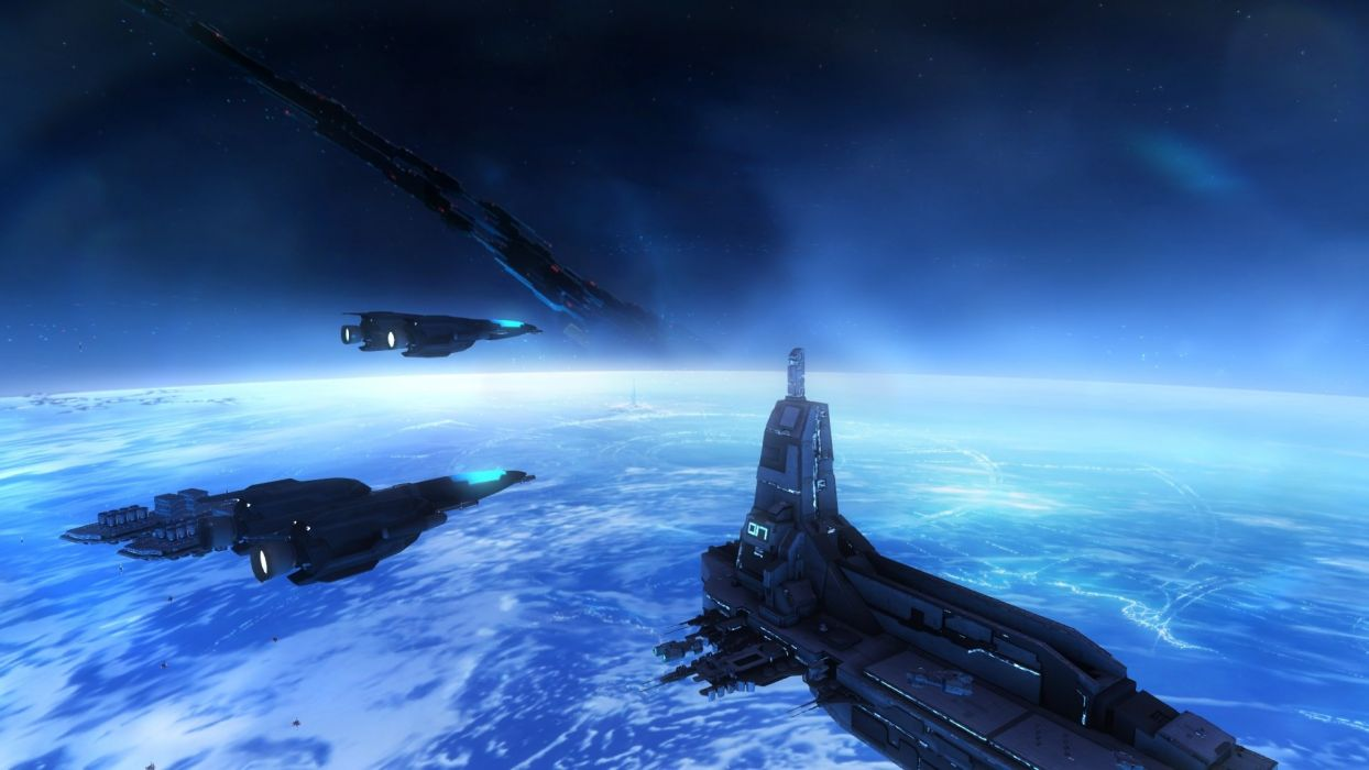 STRIKE SUIT ZERO space flight combat sci-fi spaceship simulator mecha (16) wallpaper