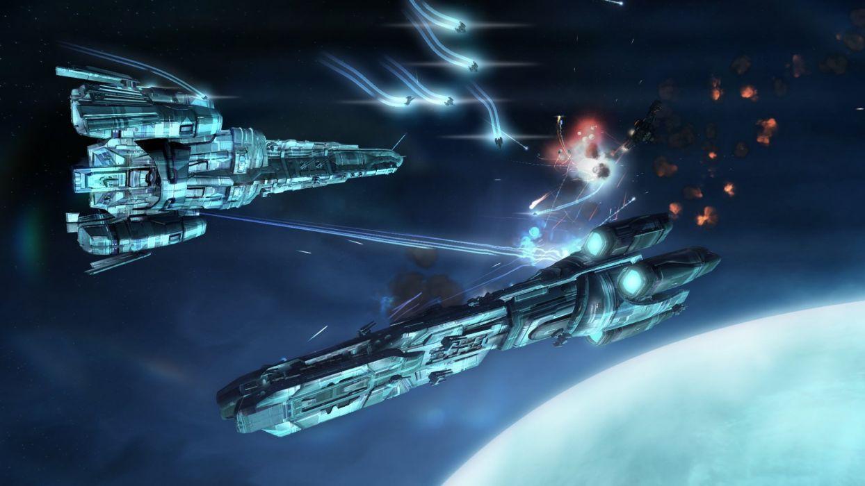 STRIKE SUIT ZERO space flight combat sci-fi spaceship simulator mecha (22) wallpaper