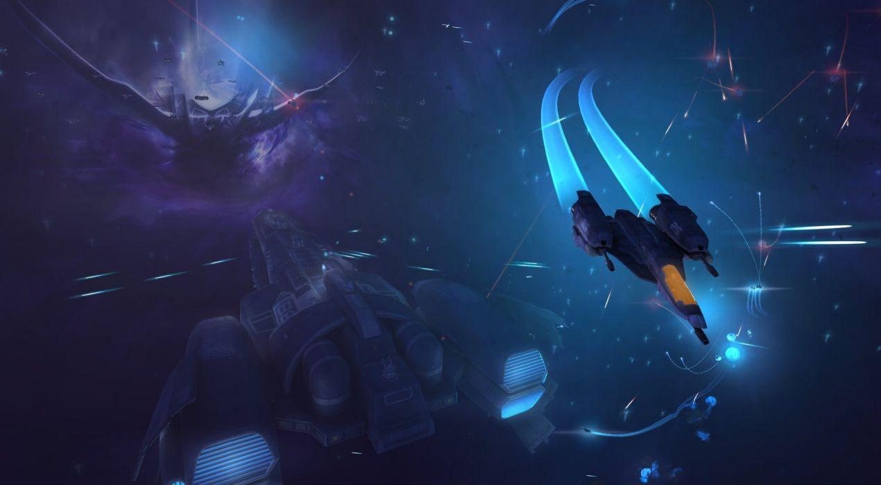 STRIKE SUIT ZERO space flight combat sci-fi spaceship simulator mecha (26) wallpaper