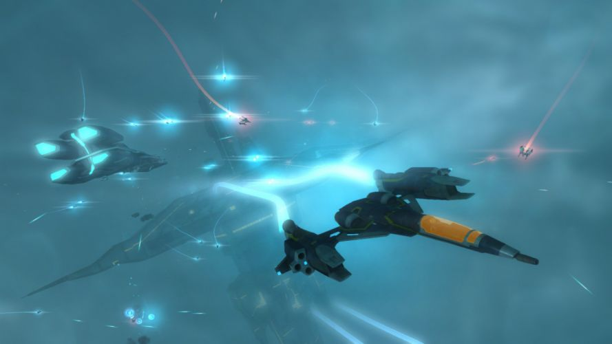 STRIKE SUIT ZERO space flight combat sci-fi spaceship simulator mecha (31) wallpaper