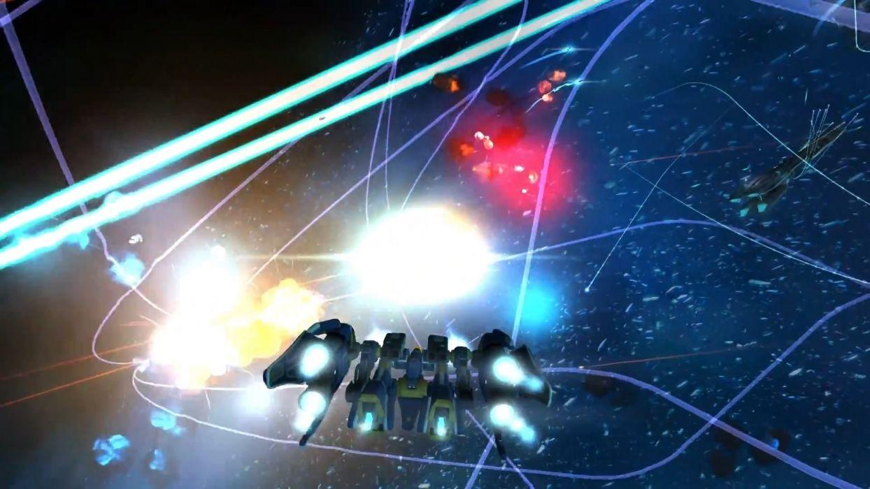 STRIKE SUIT ZERO space flight combat sci-fi spaceship simulator mecha (33) wallpaper
