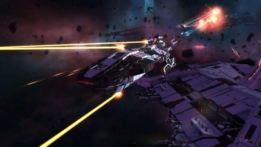 STRIKE SUIT ZERO space flight combat sci-fi spaceship simulator mecha (40) wallpaper