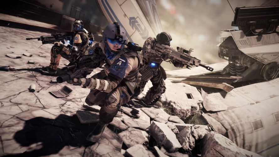 KILLZONE Shadow Fall shooter action sci-fi warrior (29) wallpaper