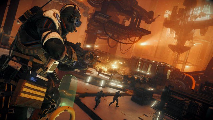 KILLZONE Shadow Fall shooter action sci-fi warrior (32) wallpaper