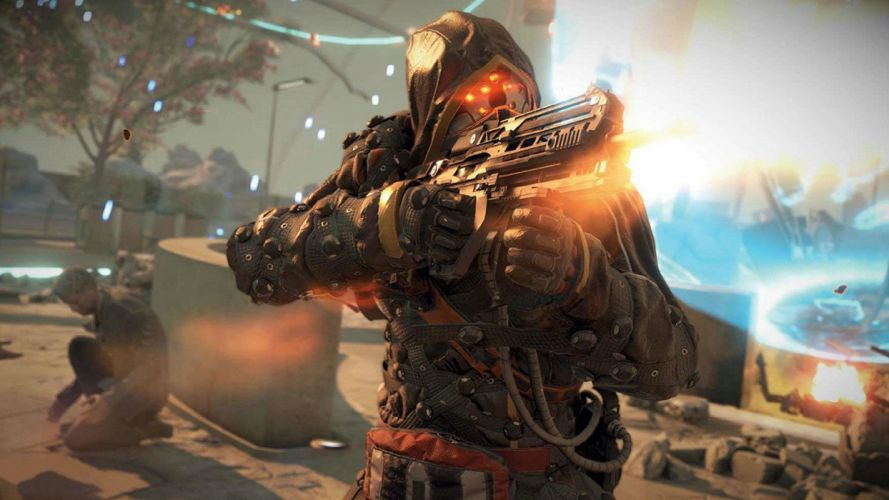 KILLZONE Shadow Fall shooter action sci-fi warrior (35) wallpaper