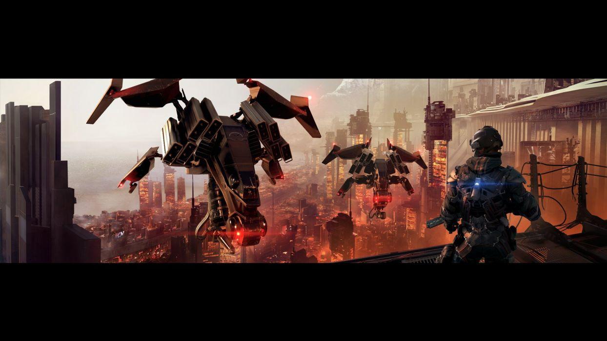 KILLZONE Shadow Fall shooter action sci-fi warrior (34) wallpaper
