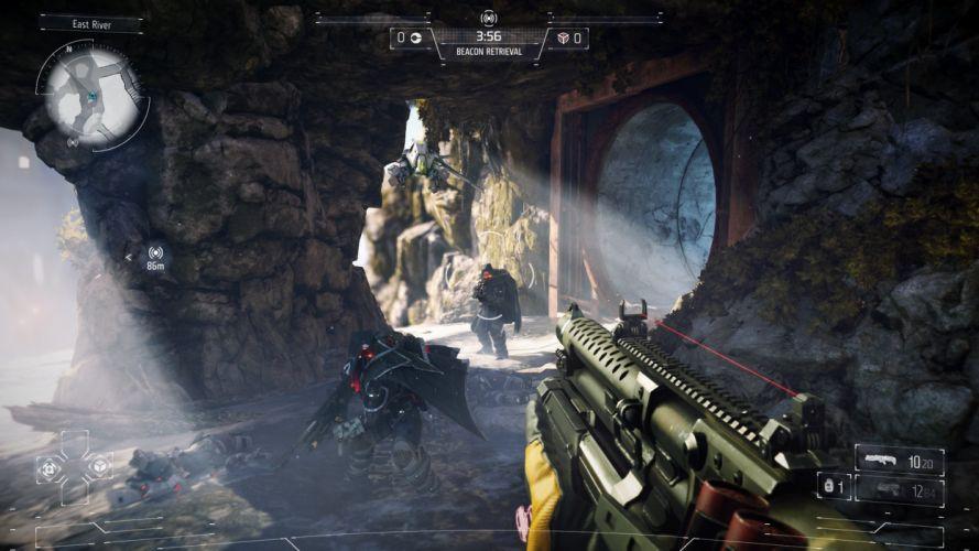 KILLZONE Shadow Fall shooter action sci-fi warrior (38) wallpaper