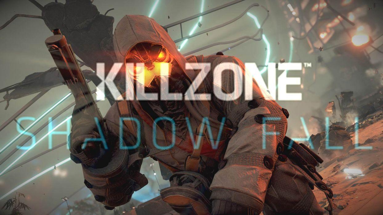 KILLZONE Shadow Fall shooter action sci-fi warrior (39) wallpaper