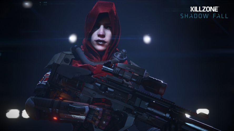 KILLZONE Shadow Fall shooter action sci-fi warrior (55) wallpaper