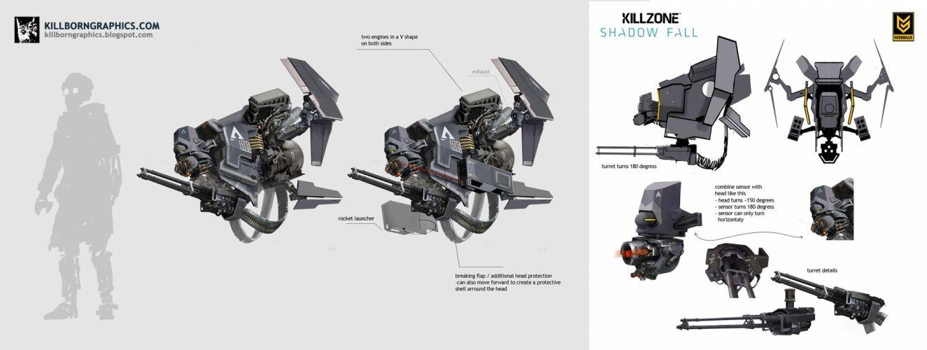 KILLZONE Shadow Fall shooter action sci-fi warrior (69) wallpaper