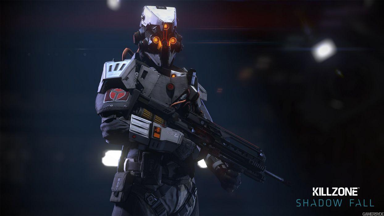 KILLZONE Shadow Fall shooter action sci-fi warrior (160) wallpaper