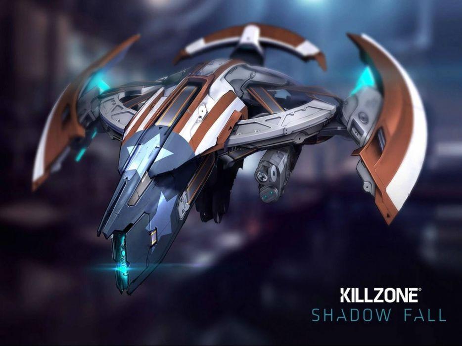 KILLZONE Shadow Fall shooter action sci-fi warrior (164) wallpaper