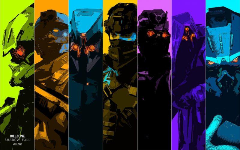 KILLZONE Shadow Fall shooter action sci-fi warrior (172) wallpaper