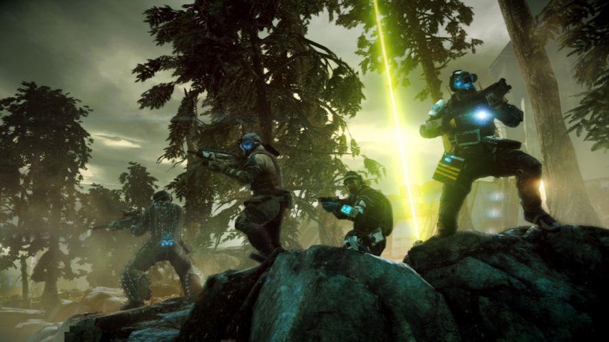 KILLZONE Shadow Fall shooter action sci-fi warrior (183) wallpaper