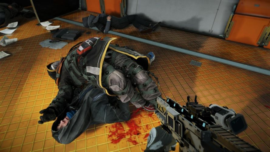 KILLZONE Shadow Fall shooter action sci-fi warrior (205) wallpaper