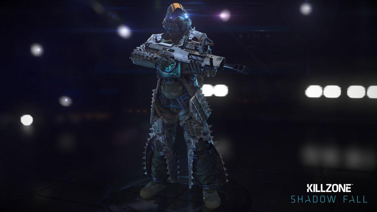 KILLZONE Shadow Fall shooter action sci-fi warrior (223) wallpaper