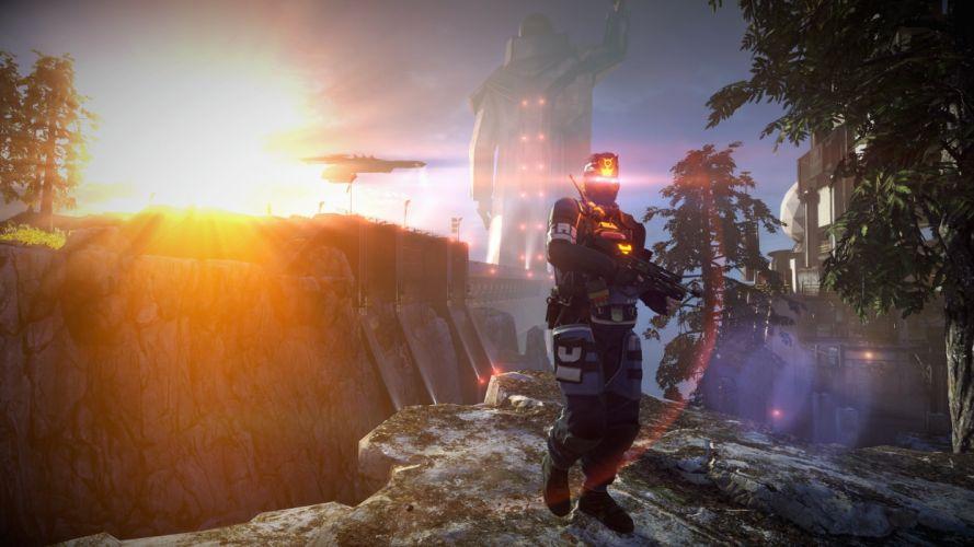 KILLZONE Shadow Fall shooter action sci-fi warrior (214) wallpaper
