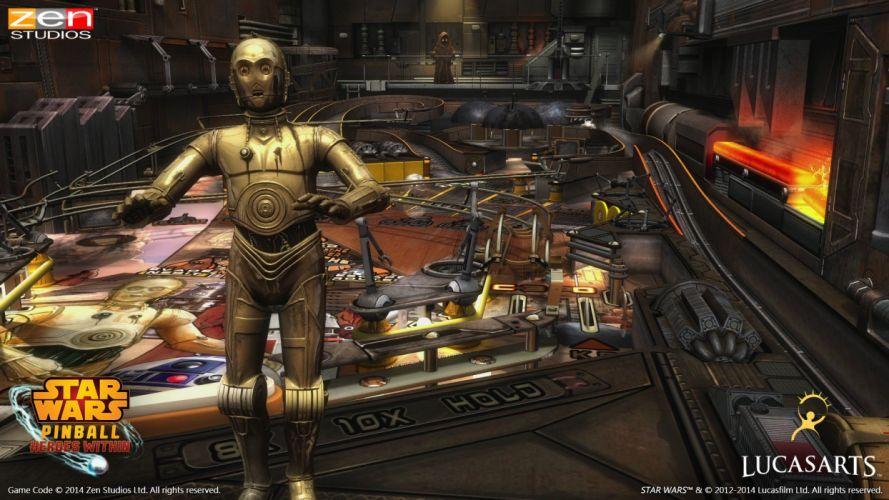 STAR WARS PINBALL Heroes Within sci-fi (5) wallpaper