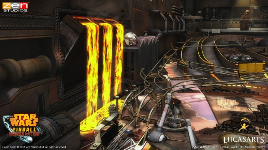 STAR WARS PINBALL Heroes Within sci-fi (6) wallpaper