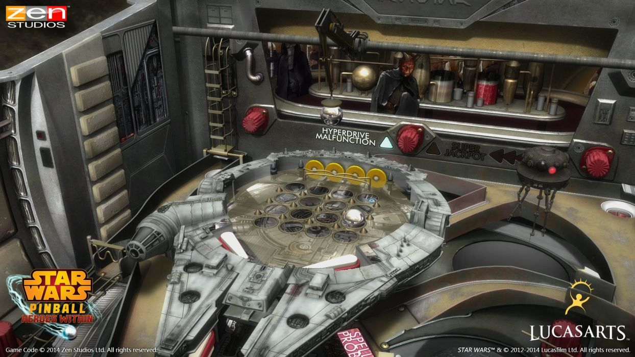STAR WARS PINBALL Heroes Within sci-fi (3) wallpaper