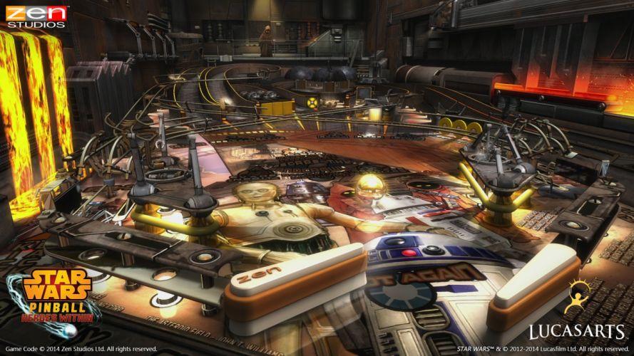 STAR WARS PINBALL Heroes Within sci-fi (9) wallpaper
