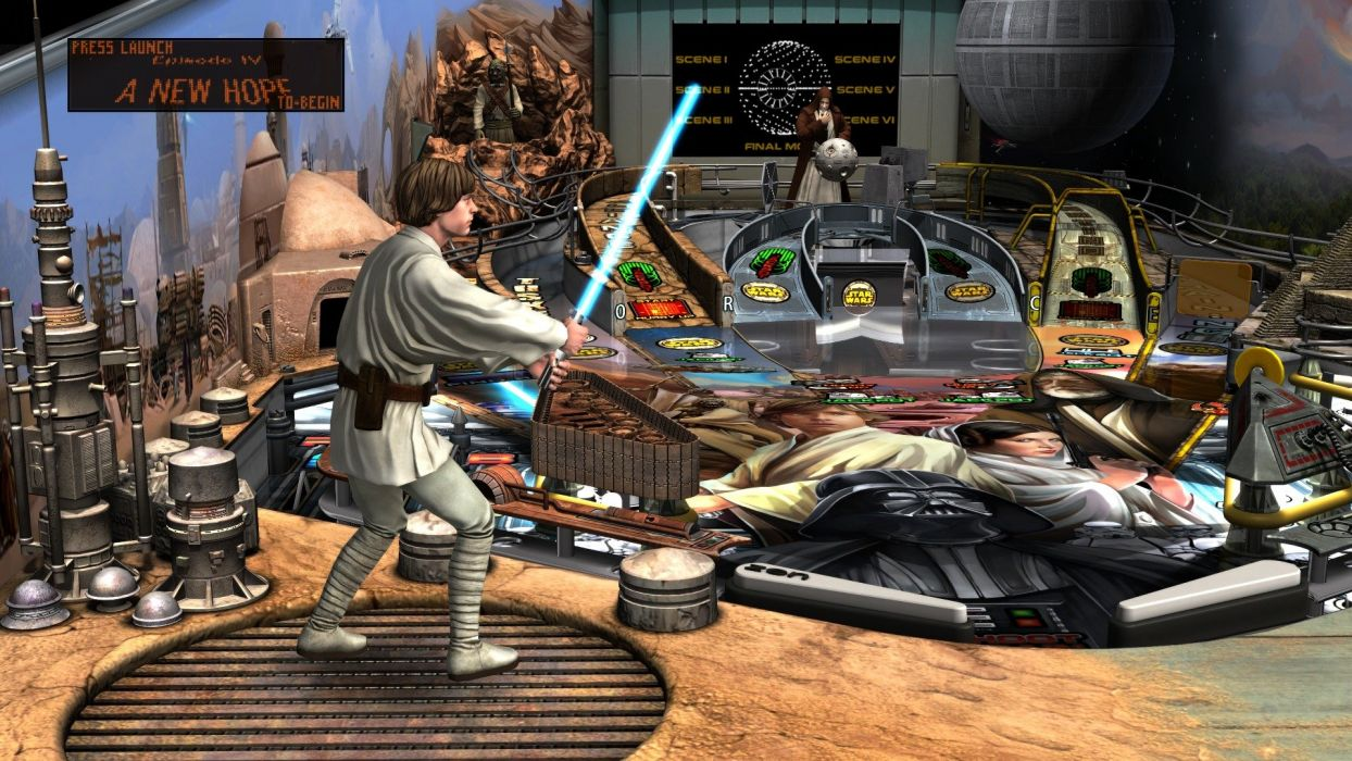STAR WARS PINBALL Heroes Within sci-fi (13) wallpaper